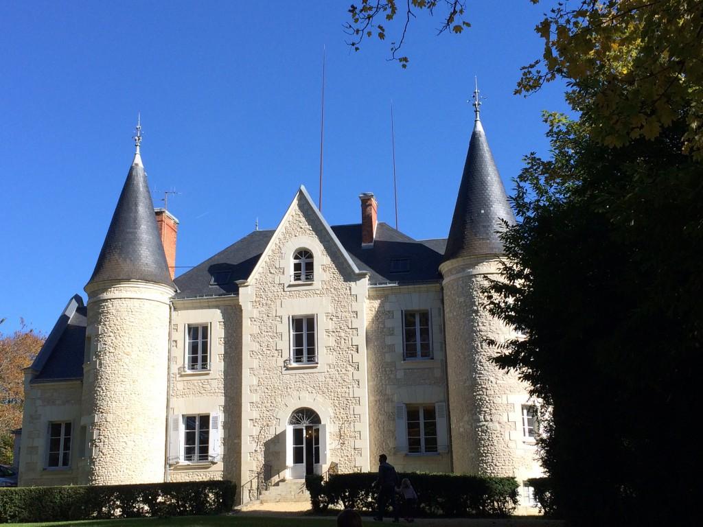 La maison d'hôtes, le château de Gué Chapelle
