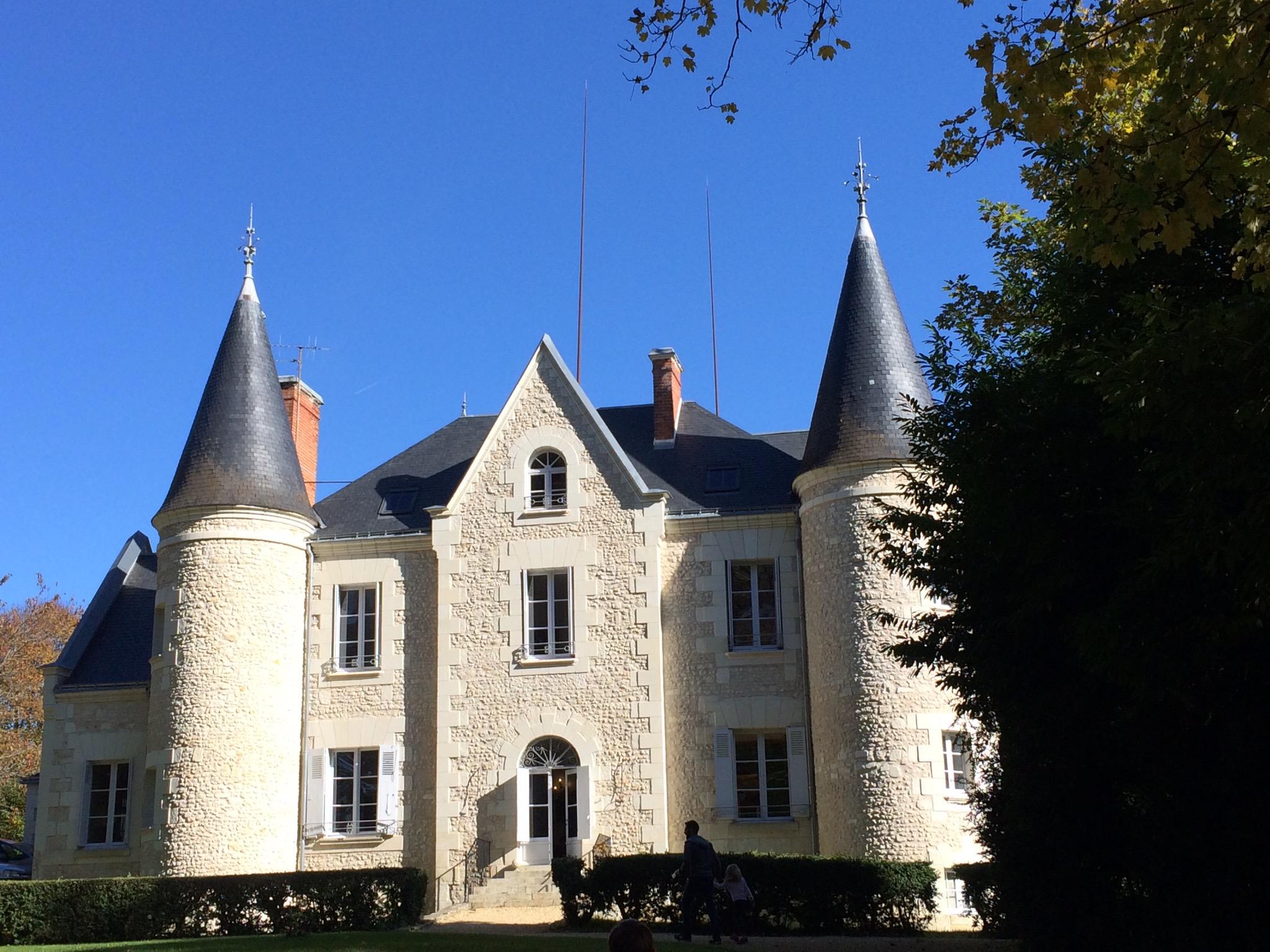 Château de Gue Chapelle vue exterieur