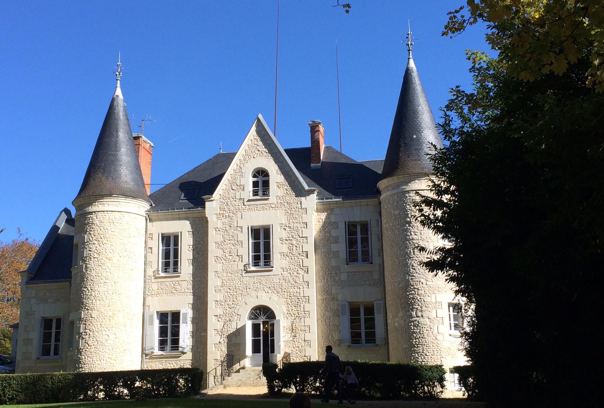 Le château de Gué Chapelle est au cœur de la vallée de la Loire