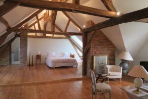 La chambre d'Aigremont est une suite permettant d'acceuillir 4 invités