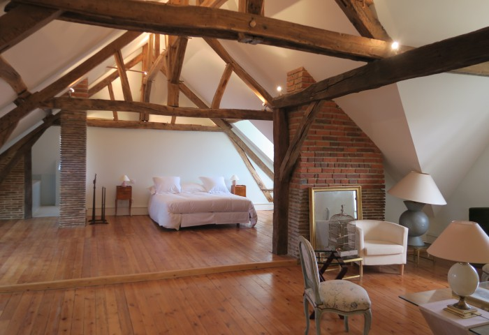découvrez les 5 chambres d'hôtes du château de Gué Chapelle